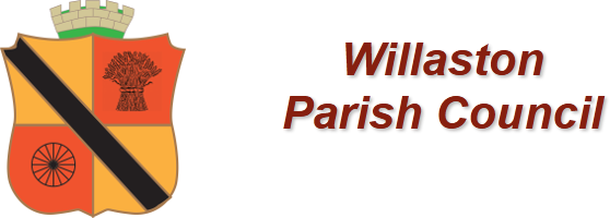 Willaston Parish Council Shield and Text